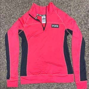 Victoria's Secret PINK ULTIMATE Pink Half-Zip
